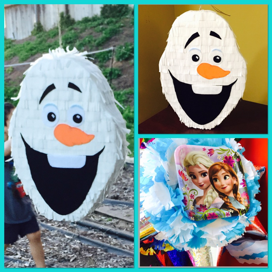 DIY Olaf Pinata vs Store Bought Pinata