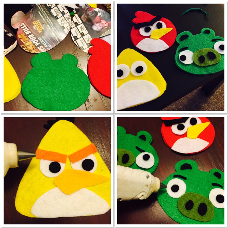 Angry Birds Beanbags