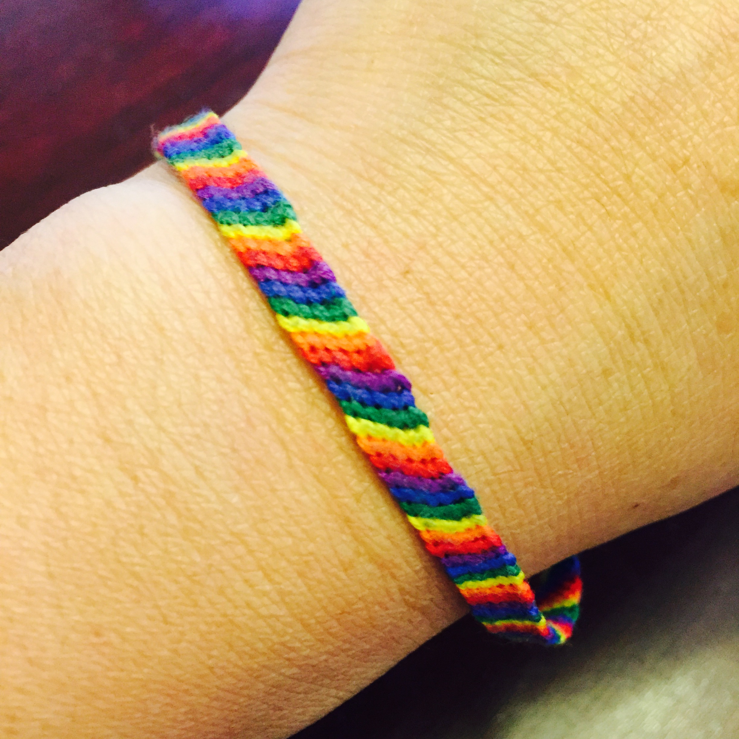 #LOVEWINS Friendship Bracelet
