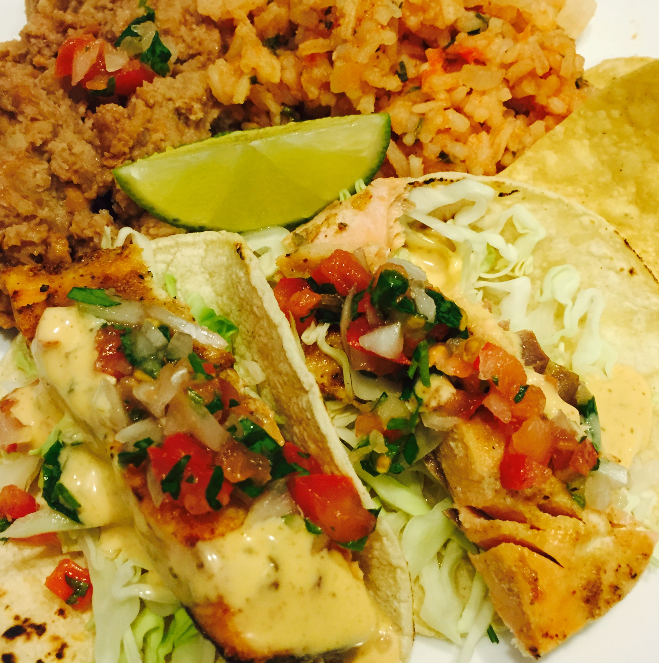 Broiled Fish Tacos With Chipotle Slaw
