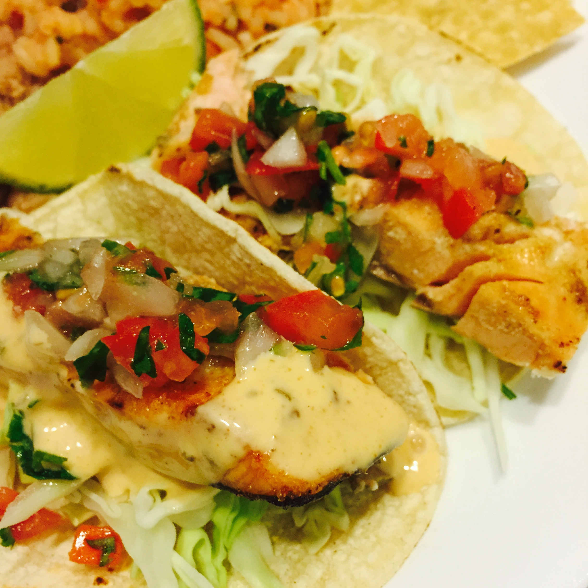 Fish Tacos With Chipotle Slaw