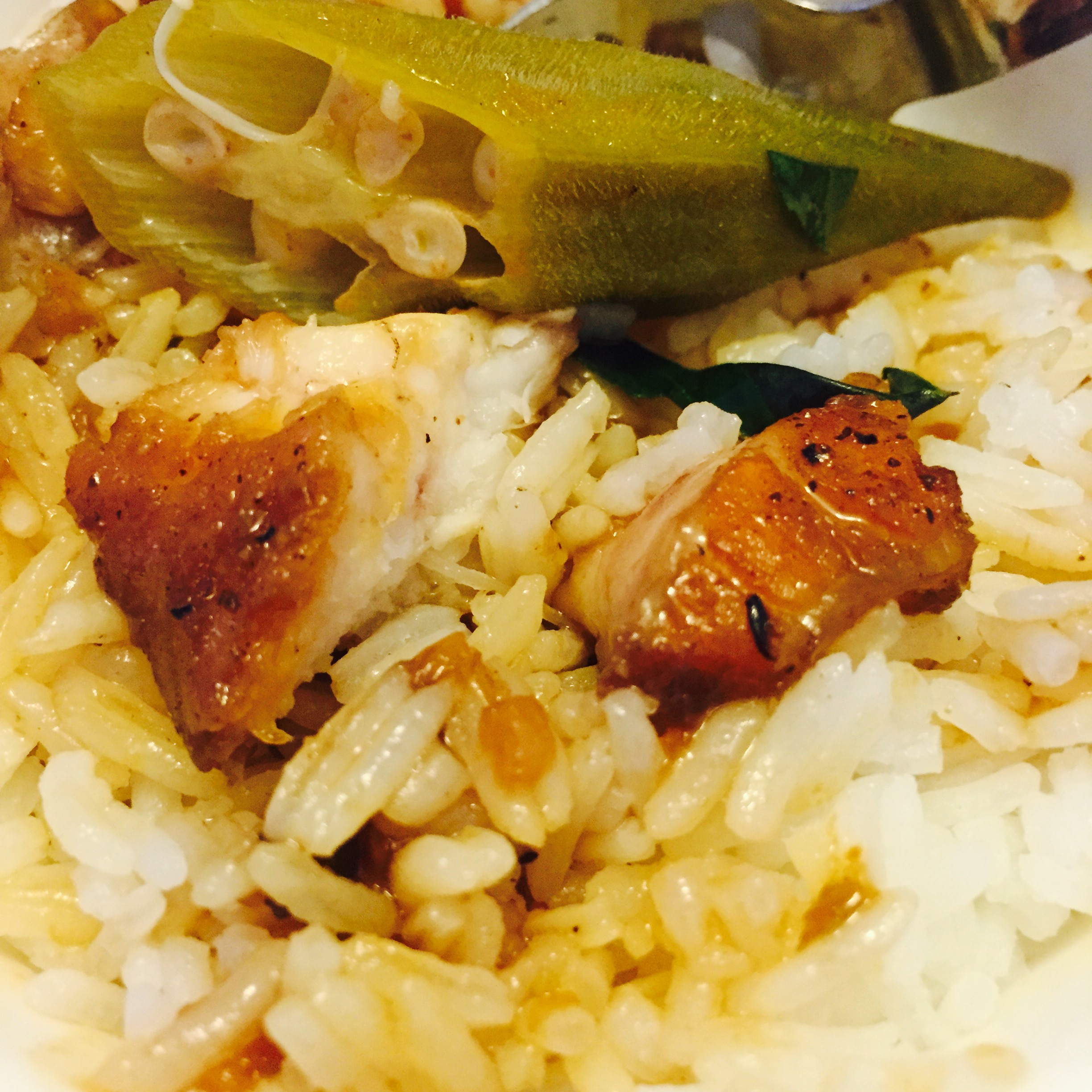 Caramelized Catfish & Rice