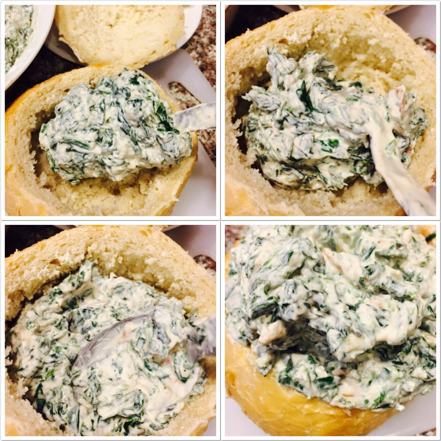 Easy Quick Spinach Dip