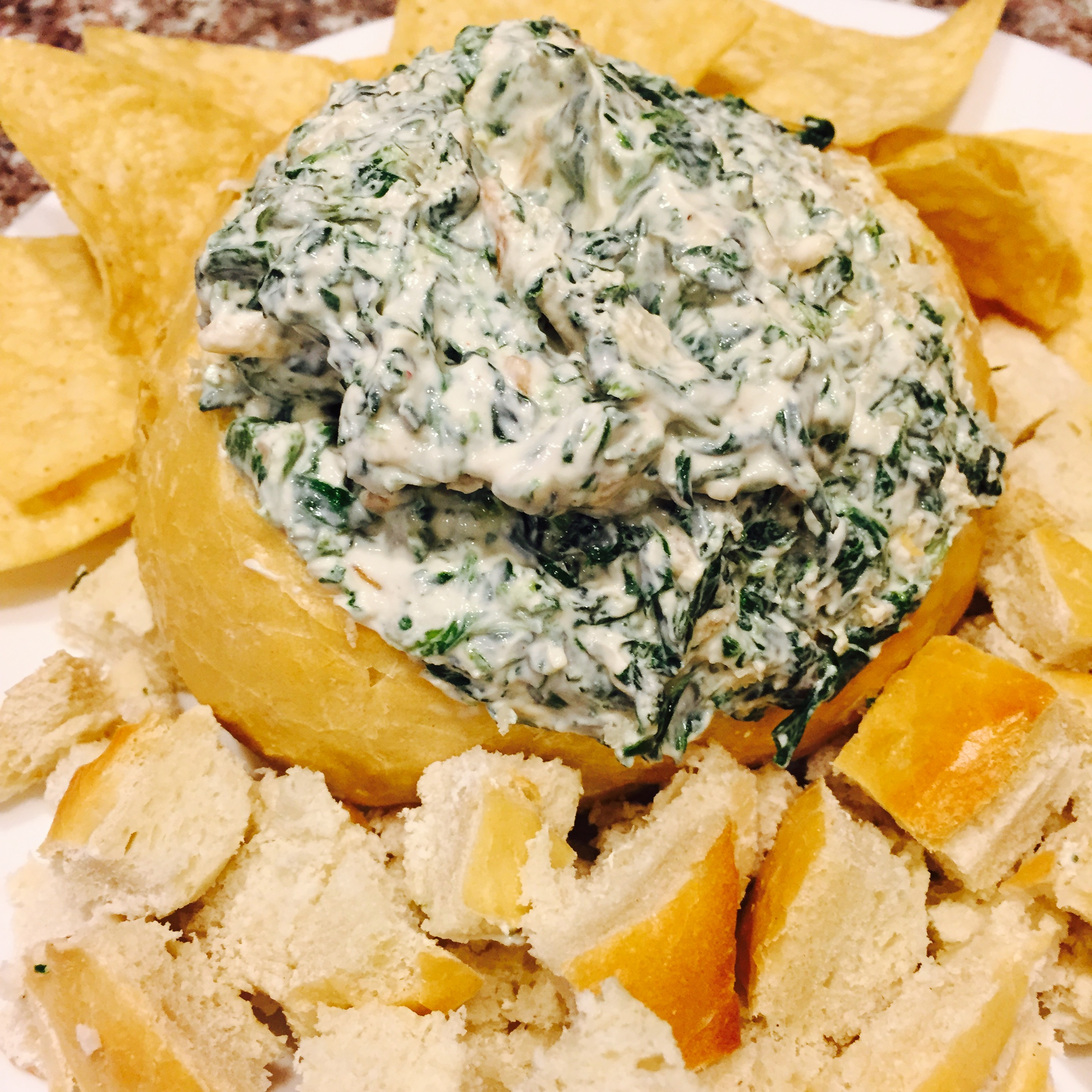Quick & Easy Spinach Dip