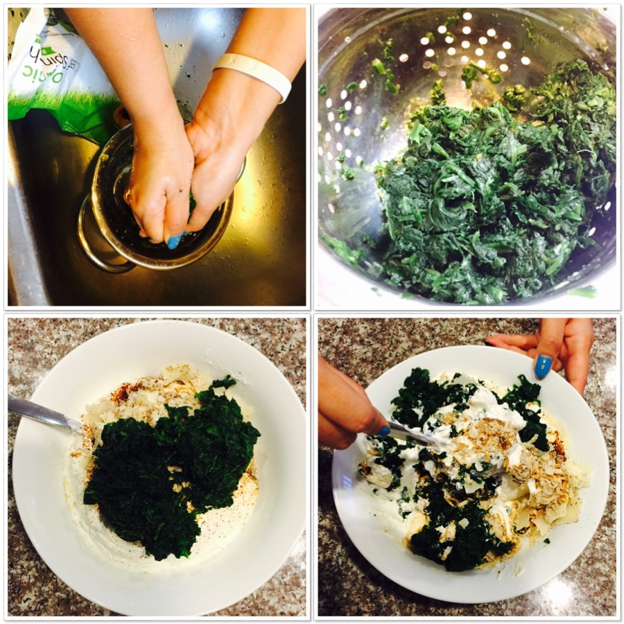 Quick Spinach Dip