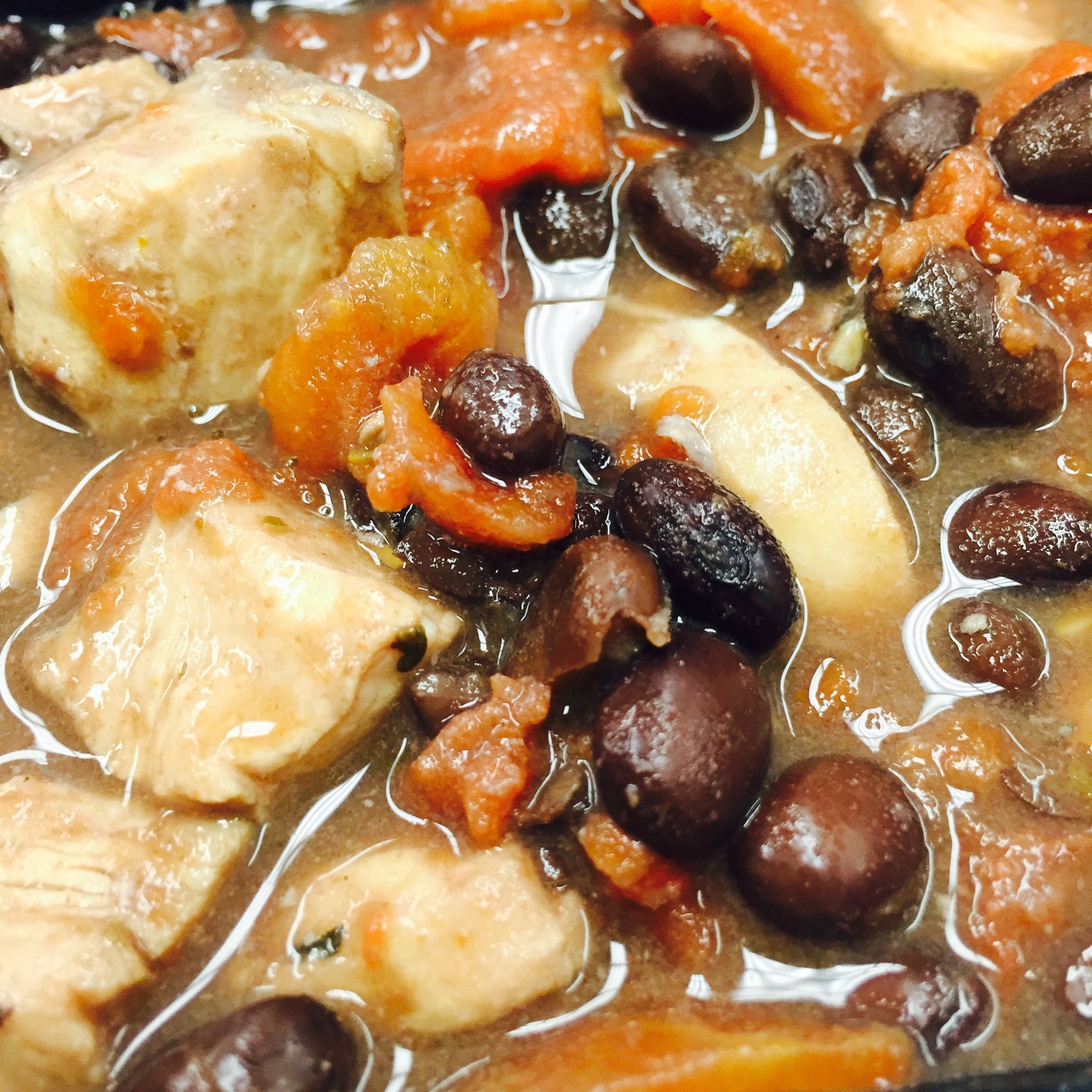 Crock Pot Chicken & Black Beans