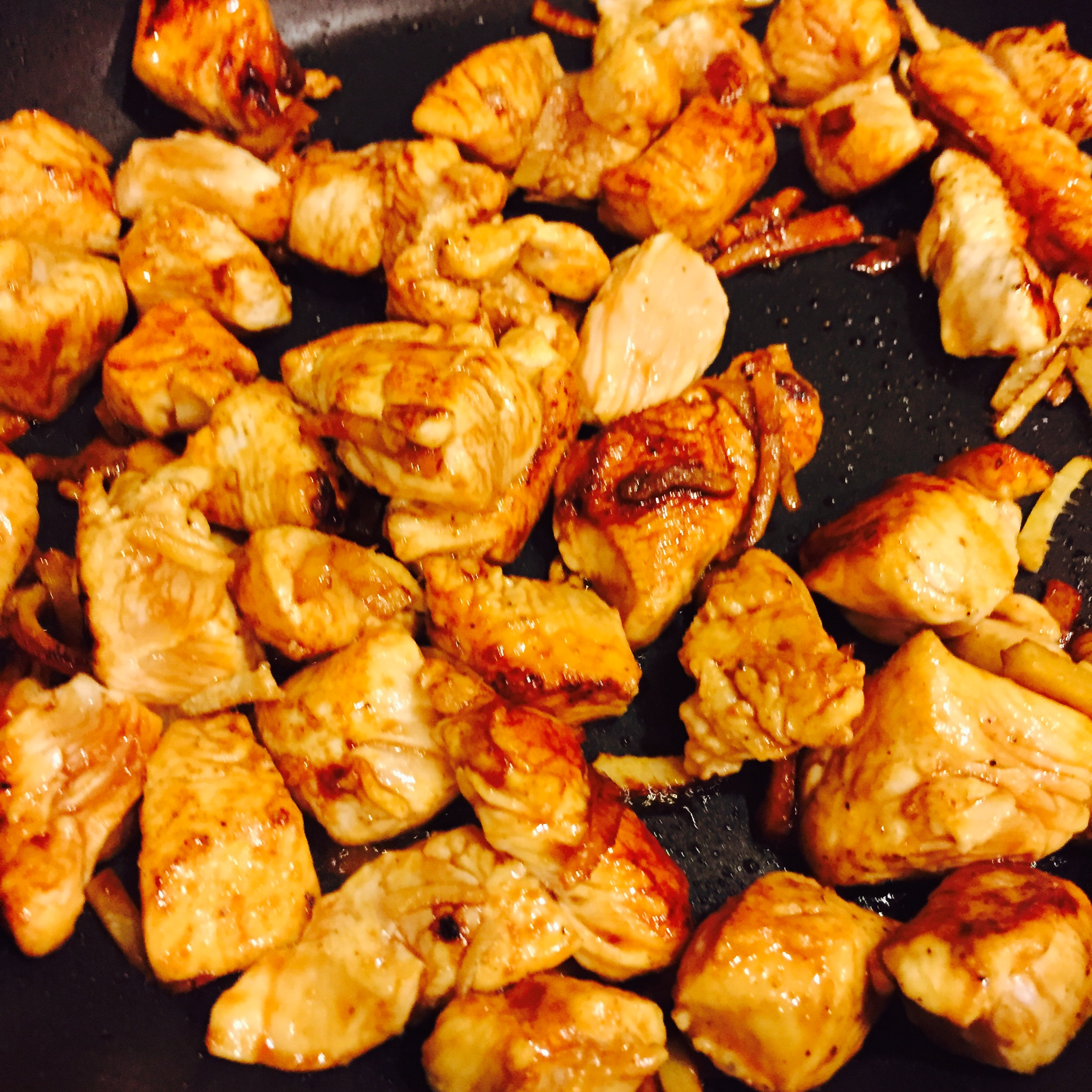 Caramelized Ginger & Chicken