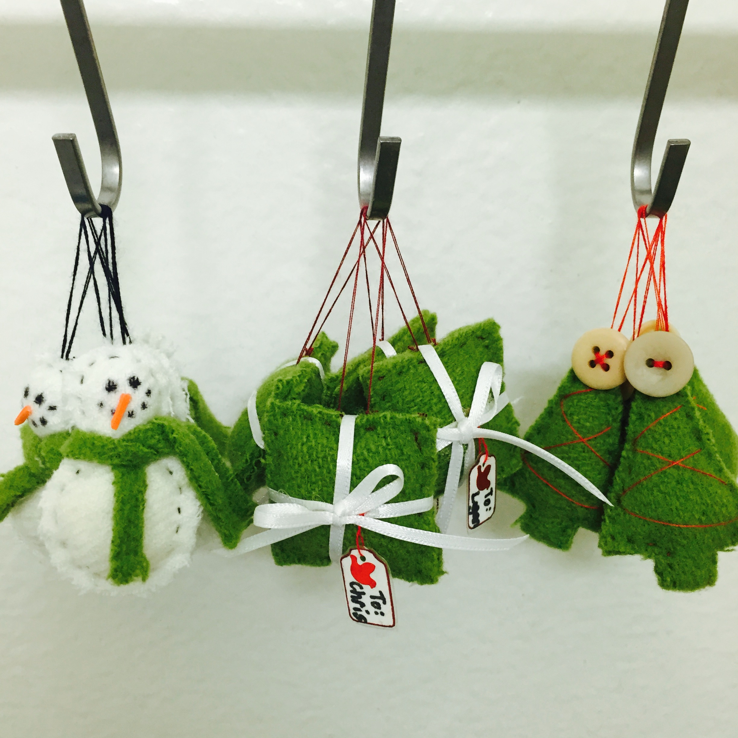 Handmade holiday ornaments the how to duo