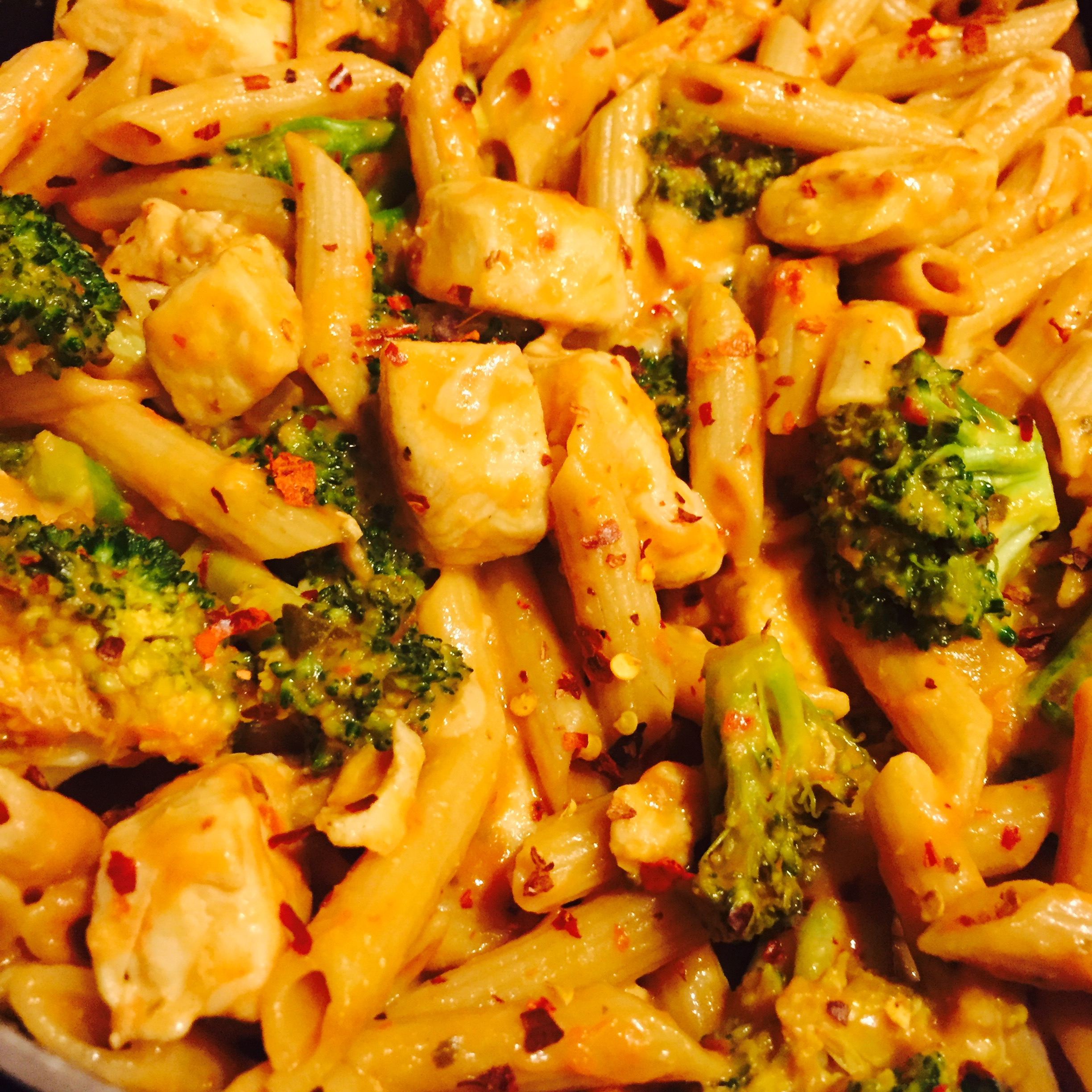 Chicken & Broccoi Penne With Pink Sauce