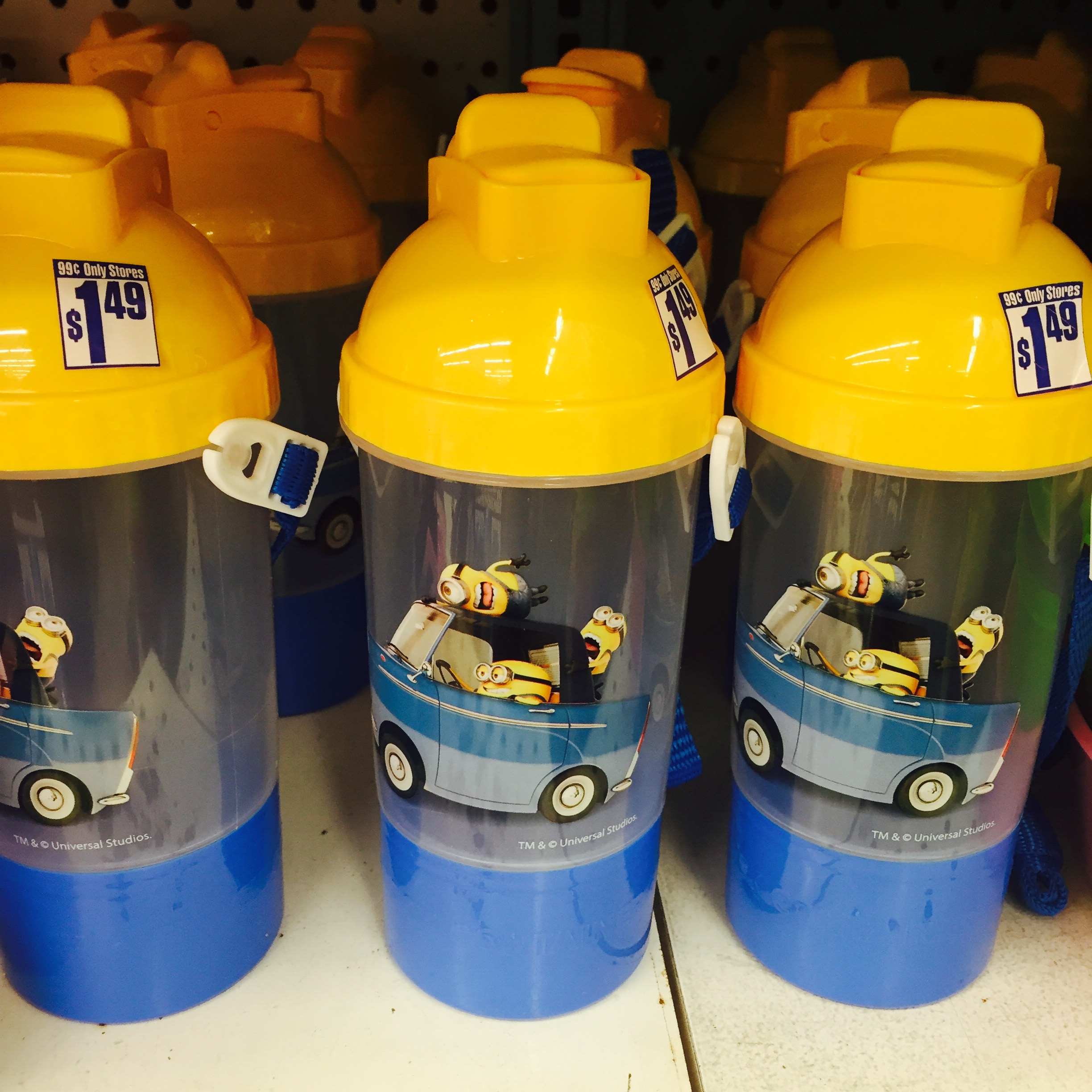 Minion Cups 99 Cents Only Store